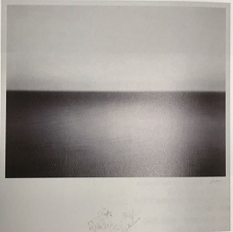 杉本博司 Boden Sea,Uttwil Limited Edition Print,2009